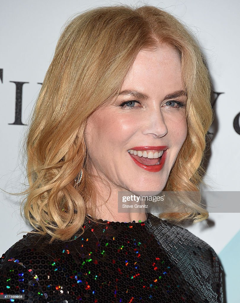 Nicole Kidman arrives at the Women In Film 2015 Crystal + Lucy Awards at the Hyatt Regency Century Plaza on June 16, 2015 in Los Angeles, California.