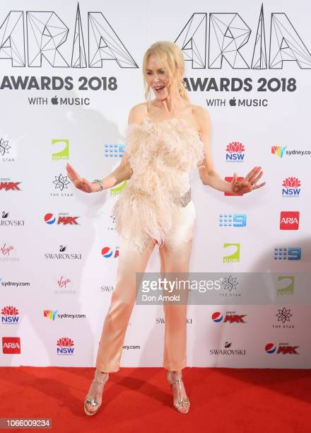 Nicole Kidman arrives for the 32nd Annual ARIA Awards 2018 at The Star on November 28 2018 in Sydney Australia