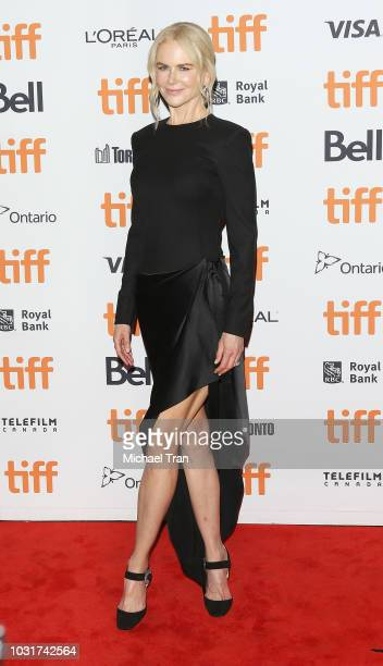 Nicole Kidman arrives to the premiere of Boy Erased held during the 2018 Toronto International Film Festival on September 11 2018 in Toronto Canada