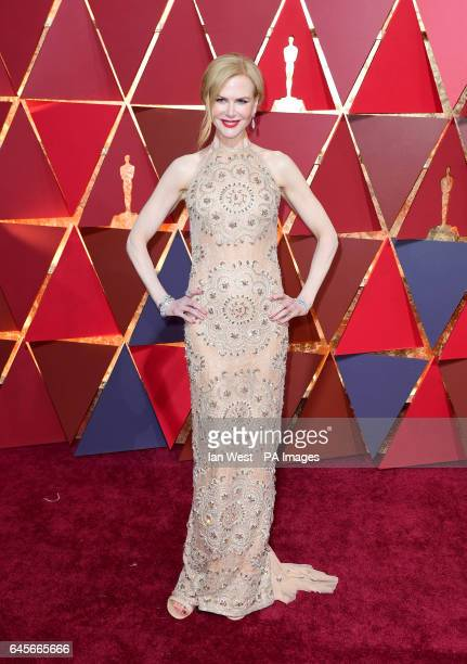 Nicole Kidman arriving at the 89th Academy Awards held at the Dolby Theatre in Hollywood Los Angeles USA