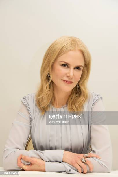 Nicole Kidman at the 'Big Little Lies' Press Conference at the Four Seasons Hotel on February 7 2017 in Beverly Hills California