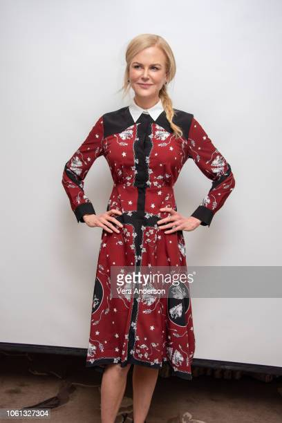 Nicole Kidman at the 'Destroyer' Press Conference at the Four Seasons Hotel on November 13 2018 in Beverly Hills California