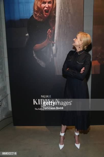 Nicole Kidman at The New York Times Magazine Celebrates 'The Great Performers Issue' 2017 on December 7 2017 in Los Angeles California