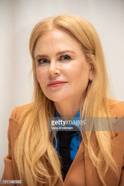 Nicole Kidman at The Undoing Press Conference at the Four Seasons Hotel on March 09 2020 in Beverly Hills California