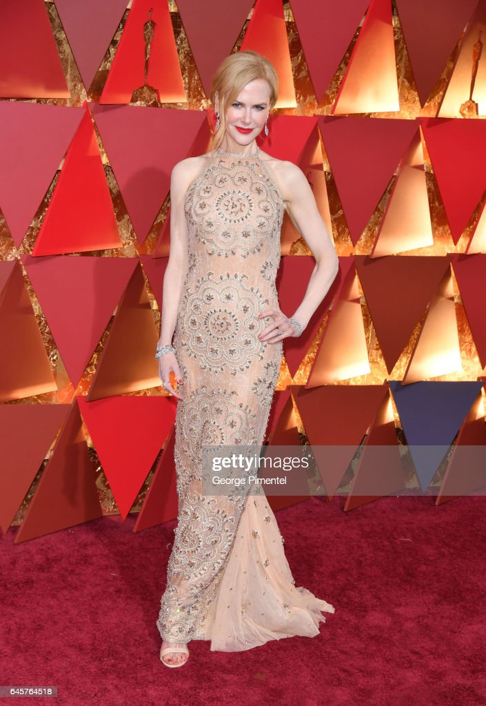Nicole Kidman attend the 89th Annual Academy Awards at Hollywood & Highland Center on February 26, 2017 in Hollywood, California.