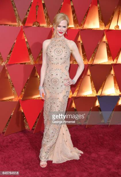 Nicole Kidman attend the 89th Annual Academy Awards at Hollywood Highland Center on February 26 2017 in Hollywood California