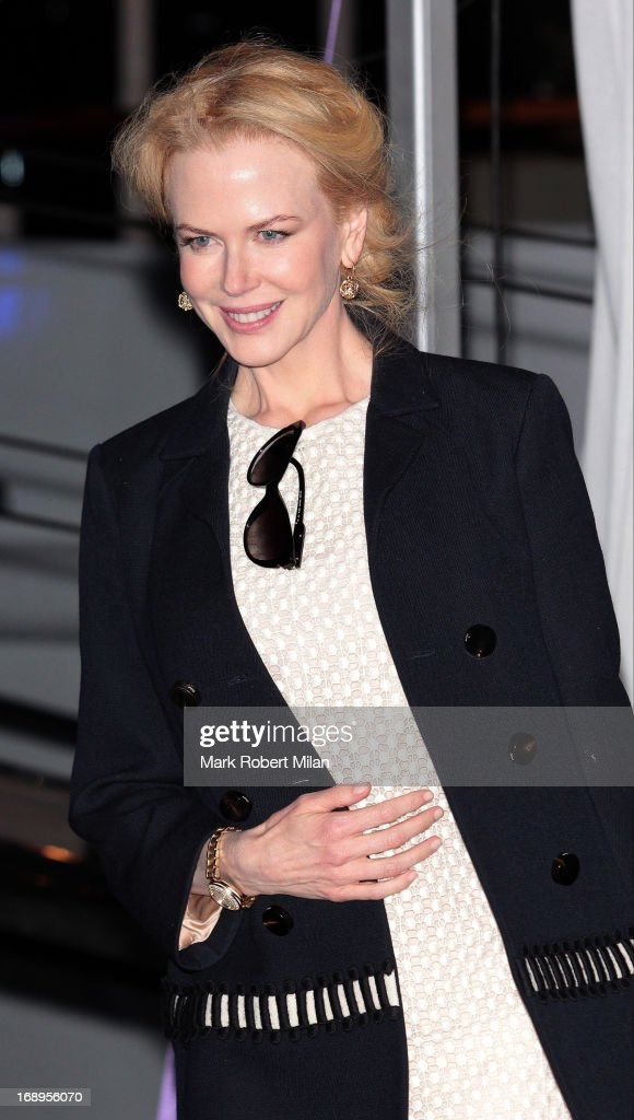 Nicole Kidman attending the Johnnie Walker yacht party at The 66th Annual Cannes Film Festival on May 17, 2013 in Cannes, France.
