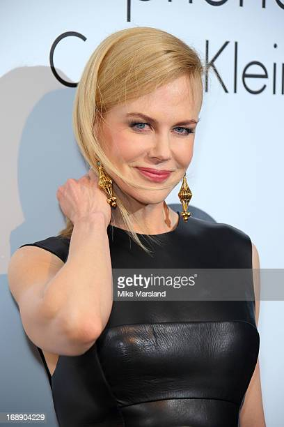 Nicole Kidman attends a party hosted by Calvin Klein and IFP to celebrate women in film at The 66th Annual Cannes Film Festival at L'Ecrin Plage on...