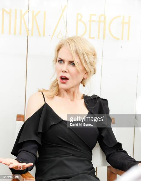 Nicole Kidman attends a photocall for the 'The Killing Of A Sacred Deer' during the 70th annual Cannes Film Festival at Nikki Beach on May 23 2017 in...