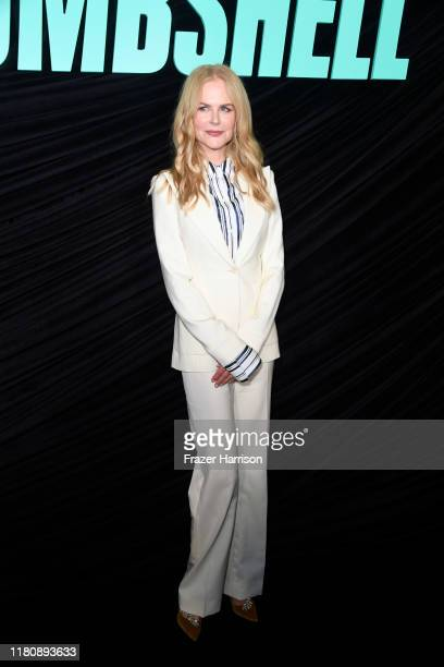 "Nicole Kidman attends a special screening of Lionsgate's ""Bombshell"" at Pacific Design Center on October 13, 2019 in West Hollywood, California."