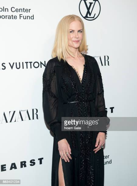 Nicole Kidman attends an evening honoring Louis Vuitton and Nicolas Ghesquiere at Alice Tully Hall at Lincoln Center on November 30 2017 in New York...