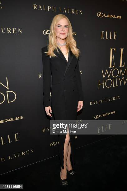 Nicole Kidman attends ELLE's 26th Annual Women In Hollywood Celebration Presented By Ralph Lauren And Lexus at The Four Seasons Hotel Los Angeles on...