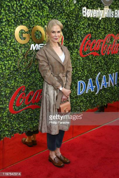 Nicole Kidman attends GOLD MEETS GOLDEN 2020, presented by Coca-Cola, BMW Beverly Hills And FASHWIRE, and hosted by Nicole Kidman and Nadia Comaneci,...