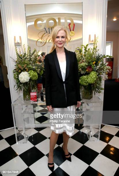 Nicole Kidman attends GOLD MEETS GOLDEN The 5th Anniversary Refreshed by CocaCola Globes Weekend Gets Sporty with Nicole Kidman and Athletic Royalty...
