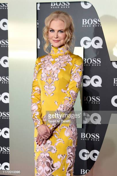 Nicole Kidman attends GQ Men Of The Year Awards 2019 in association with HUGO BOSS at Tate Modern on September 03, 2019 in London, England.