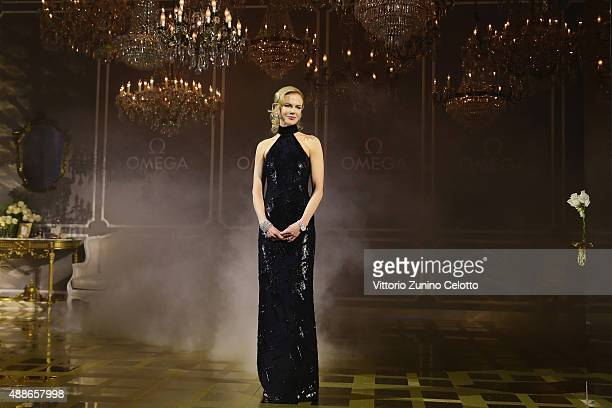 Nicole Kidman attends OMEGA 'Her Time' Gala Dinner at Palazzo Del Ghiaccio on September 16 2015 in Milan Italy