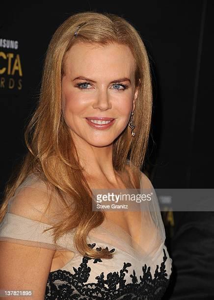 Nicole Kidman attends the 2012 Australian Academy Of Cinema And Television Arts Awardsat Soho House on January 27 2012 in West Hollywood California