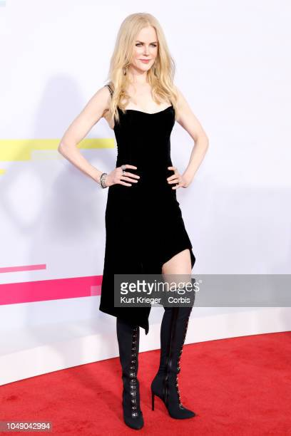 Nicole Kidman attends the 2017 American Music Awards at Microsoft Theater on November 19 2017 in Los Angeles California United States