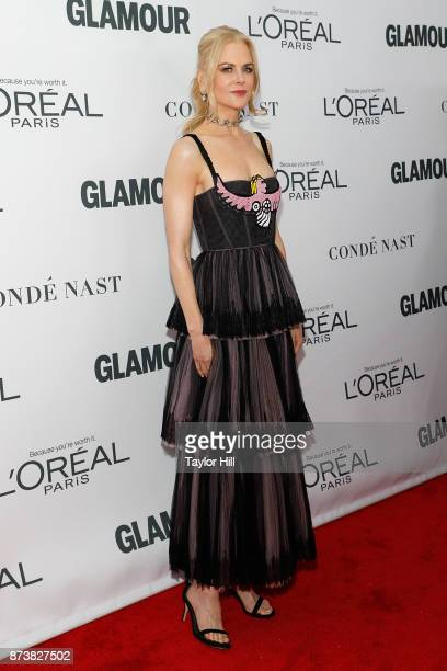 Nicole Kidman attends the 2017 Glamour Women of the Year Awards at Kings Theatre on November 13 2017 in New York City