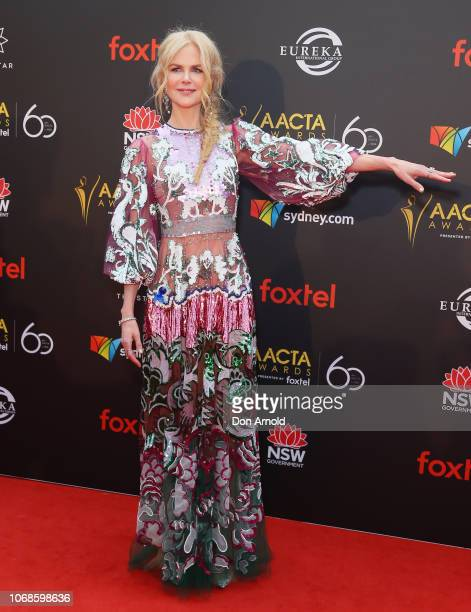 Nicole Kidman attends the 2018 AACTA Awards Presented by Foxtel at The Star on December 5 2018 in Sydney Australia