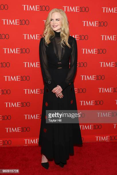 Nicole Kidman attends the 2018 Time 100 Gala at Frederick P Rose Hall Jazz at Lincoln Center on April 24 2018 in New York City