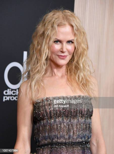Nicole Kidman attends the 22nd Annual Hollywood Film Awards at The Beverly Hilton Hotel on November 4 2018 in Beverly Hills California