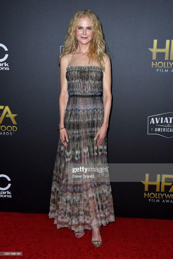 22nd Annual Hollywood Film Awards - Arrivals : Foto jornalística