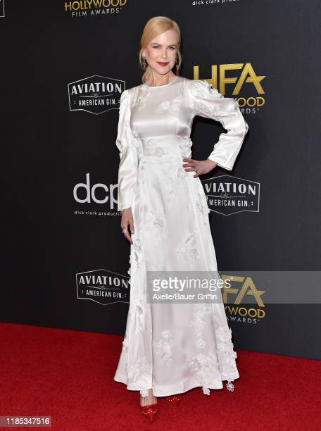 Nicole Kidman attends the 23rd Annual Hollywood Film Awards at The Beverly Hilton Hotel on November 03, 2019 in Beverly Hills, California.