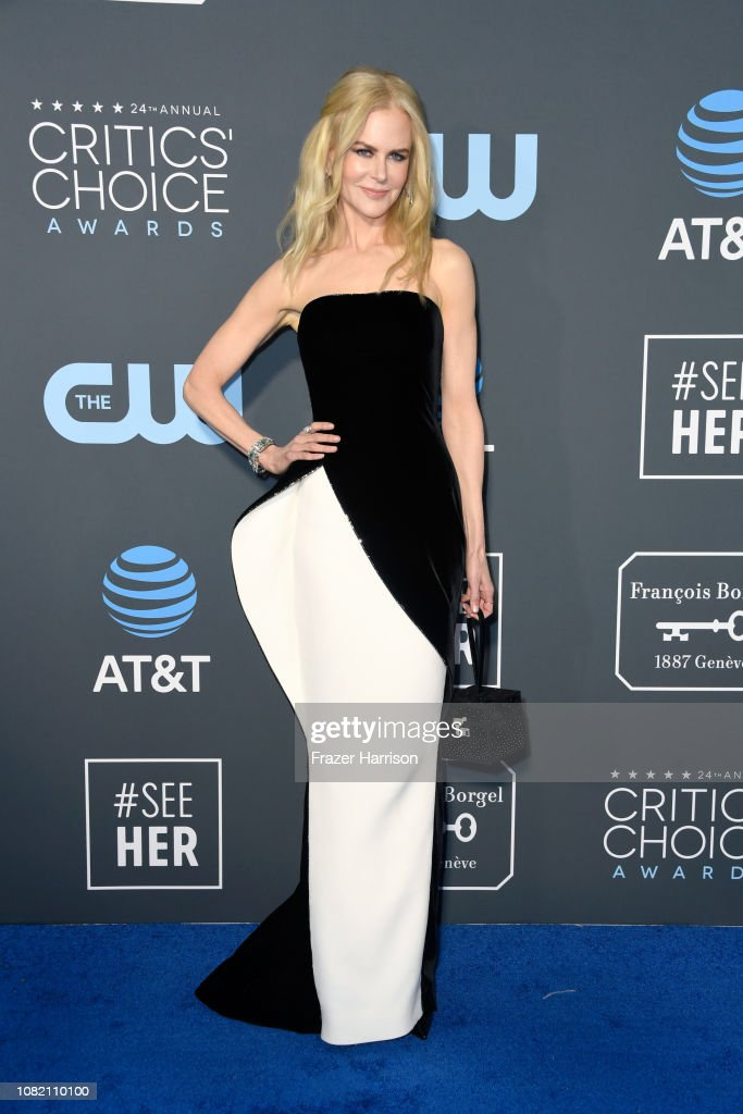 The 24th Annual Critics' Choice Awards - Arrivals : News Photo