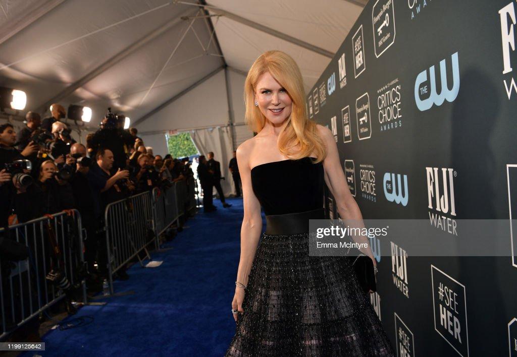 25th Annual Critics' Choice Awards - Red Carpet : ニュース写真