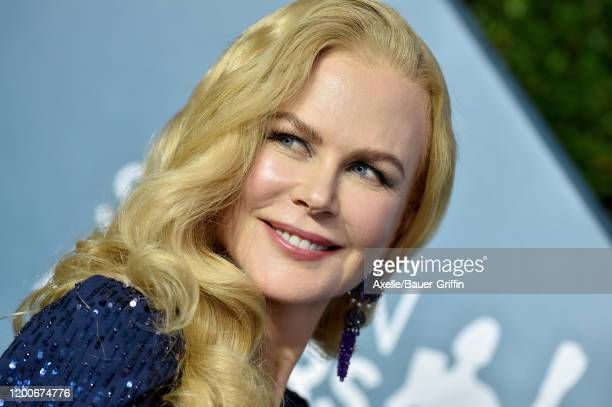 Nicole Kidman attends the 26th Annual Screen Actors Guild Awards at The Shrine Auditorium on January 19 2020 in Los Angeles California