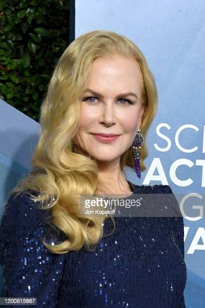 Nicole Kidman attends the 26th Annual Screen ActorsGuild Awards at The Shrine Auditorium on January 19, 2020 in Los Angeles, California.