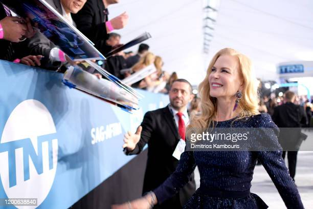 Nicole Kidman attends the 26th Annual Screen Actors Guild Awards at The Shrine Auditorium on January 19 2020 in Los Angeles California 721407