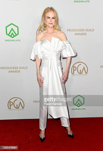Nicole Kidman attends the 31st Annual Producers Guild Awards at Hollywood Palladium on January 18, 2020 in Los Angeles, California.