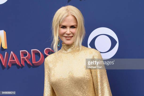 Nicole Kidman attends the 53rd Academy of Country Music Awards at MGM Grand Garden Arena on April 15 2018 in Las Vegas Nevada