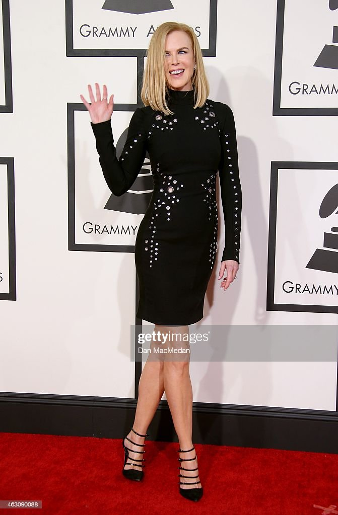 Nicole Kidman attends The 57th Annual GRAMMY Awards at the STAPLES Center on February 8, 2015 in Los Angeles, California.