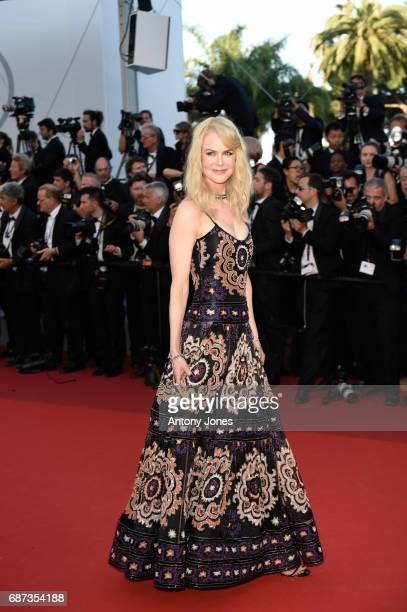 Nicole Kidman attends the 70th Anniversary of the 70th annual Cannes Film Festival at Palais des Festivals on May 23, 2017 in Cannes, France.