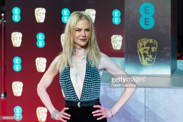 Nicole Kidman attends the 70th British Academy Film Awards ceremony at the Royal Albert Hall on February 12 2017 in London England PHOTOGRAPH BY...