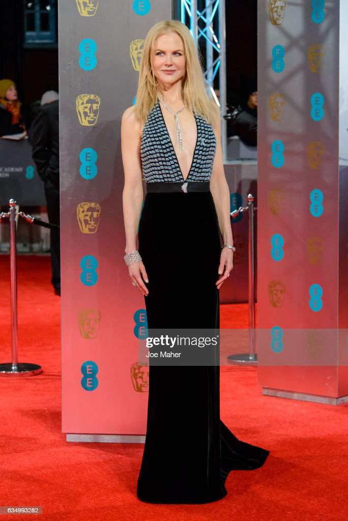 Nicole Kidman attends the 70th EE British Academy Film Awards (BAFTA) at Royal Albert Hall on February 12, 2017 in London, England.