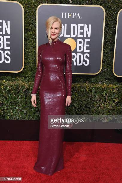 Nicole Kidman attends the 76th Annual Golden Globe Awards at The Beverly Hilton Hotel on January 6 2019 in Beverly Hills California