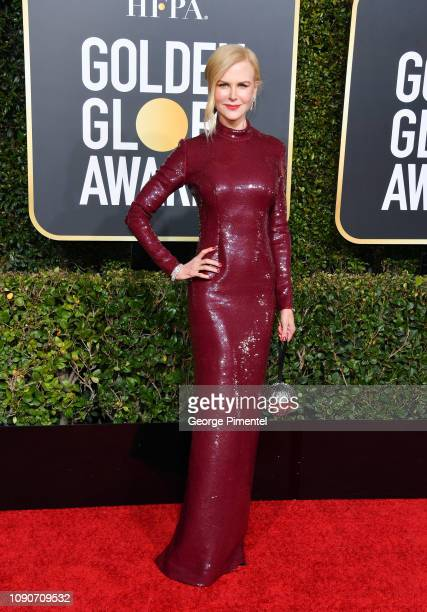 Nicole Kidman attends the 76th Annual Golden Globe Awards held at The Beverly Hilton Hotel on January 06, 2019 in Beverly Hills, California.