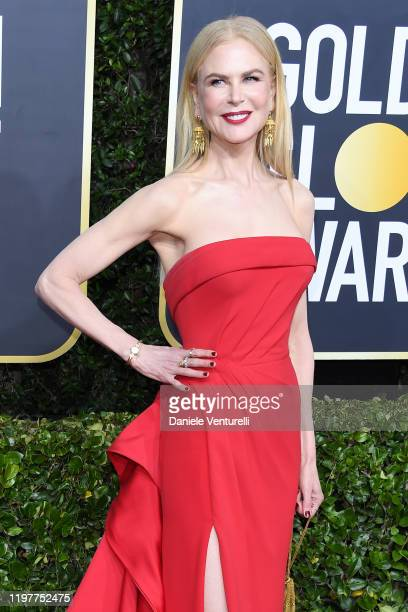Nicole Kidman attends the 77th Annual Golden Globe Awards at The Beverly Hilton Hotel on January 05 2020 in Beverly Hills California