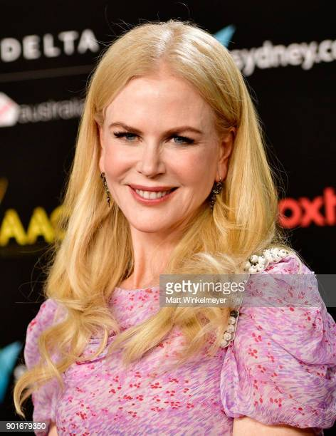 Nicole Kidman attends the 7th AACTA International Awards at Avalon Hollywood in Los Angeles on January 5 2018 in Hollywood California