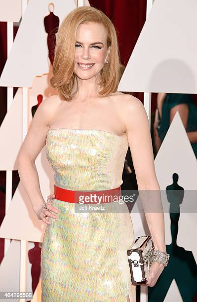 Nicole Kidman attends the 87th Annual Academy Awards at Hollywood Highland Center on February 22 2015 in Hollywood California