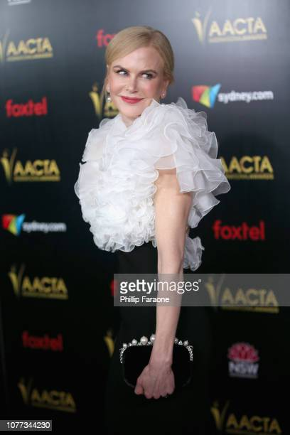 Nicole Kidman attends the 8th AACTA International Awards on January 4 2019 in Los Angeles California