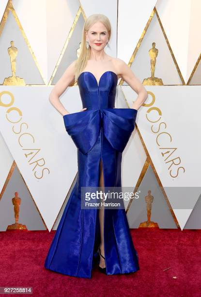 Nicole Kidman attends the 90th Annual Academy Awards at Hollywood Highland Center on March 4 2018 in Hollywood California