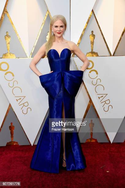 Nicole Kidman attends the 90th Annual Academy Awards at Hollywood & Highland Center on March 4, 2018 in Hollywood, California.