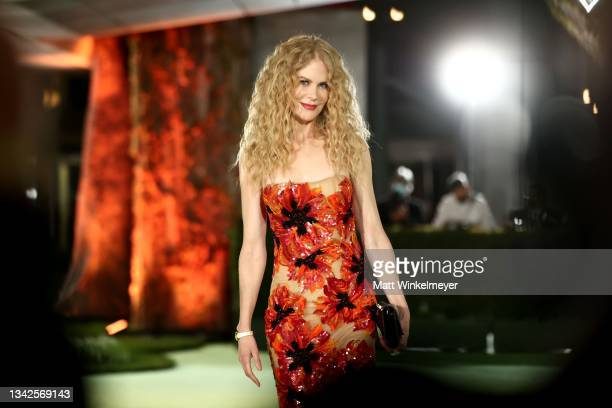 Nicole Kidman attends The Academy Museum of Motion Pictures Opening Gala at The Academy Museum of Motion Pictures on September 25, 2021 in Los...