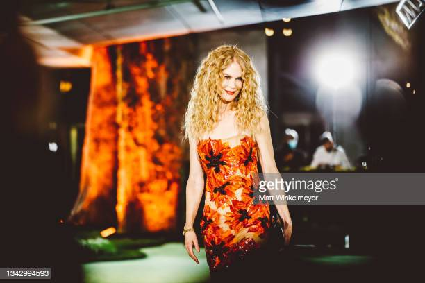 Nicole Kidman attends The Academy Museum of Motion Pictures Opening Gala at Academy Museum of Motion Pictures on September 25, 2021 in Los Angeles,...