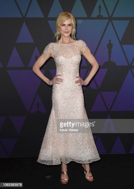 Nicole Kidman attends the Academy of Motion Picture Arts and Sciences' 10th annual Governors Awards at The Ray Dolby Ballroom at Hollywood Highland...
